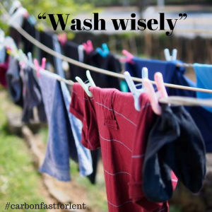 Wash wisely