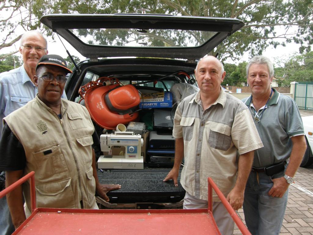 St John's Walmer, Port Elizabeth held an e-waste collection