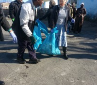 Mandela Day, 67 minutes clean-up in Nyanga