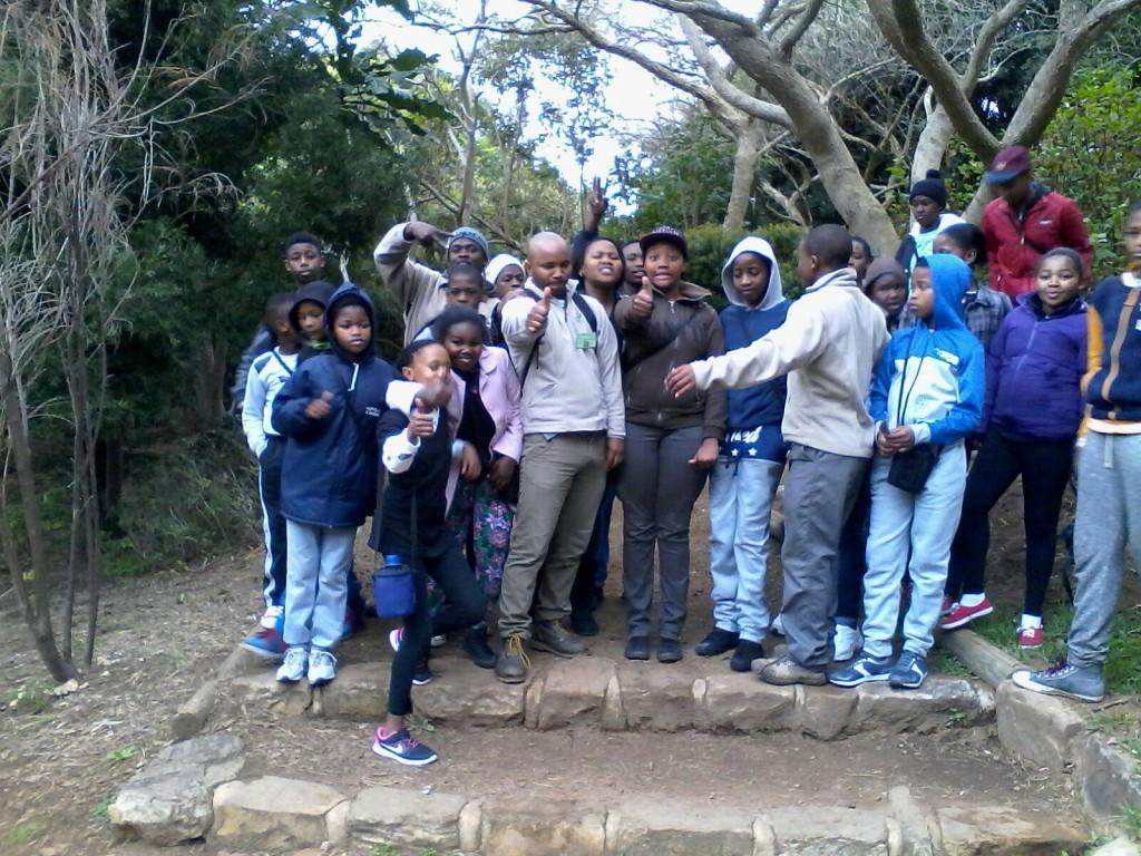 Pride of Table Mountain : Khayelitsha Sunday School hike Table Mountain