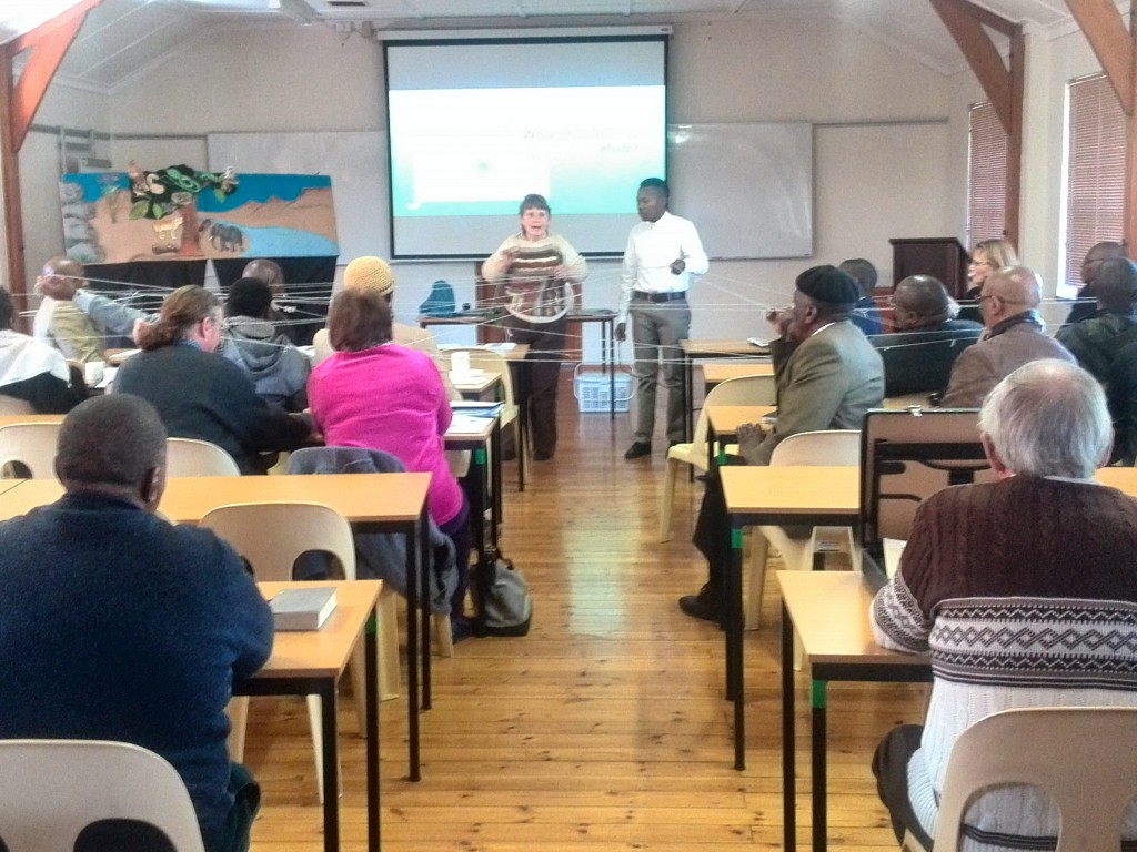 Web of life,  Huh? Diocese of Johannesburg Clergy figure it out