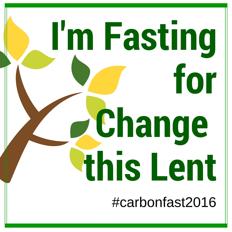 A Carbon fast for Lent