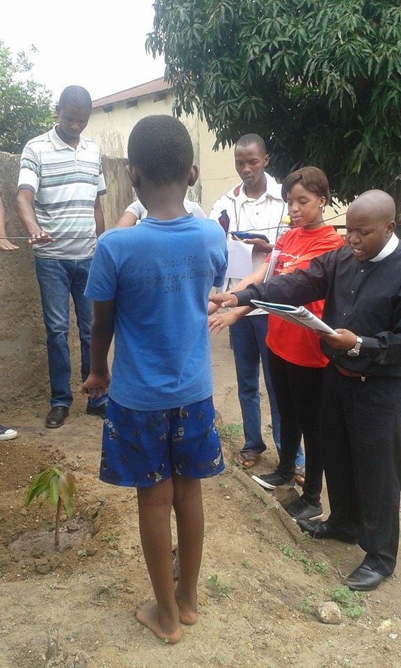 A Green Christmas for Gogo Daizy in Swaziland