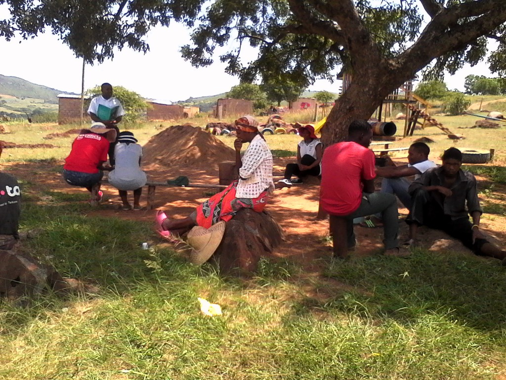 Manzini Parish plants trees : Diocese of Swaziland