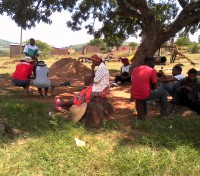 Manzini Parish plants trees : Diocese of Swaziland
