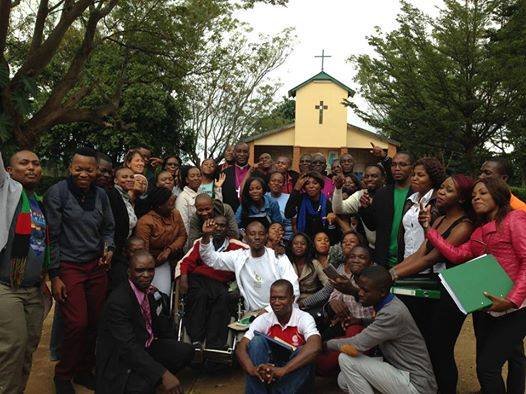 Green Anglicans blessed by Archbishop of Central