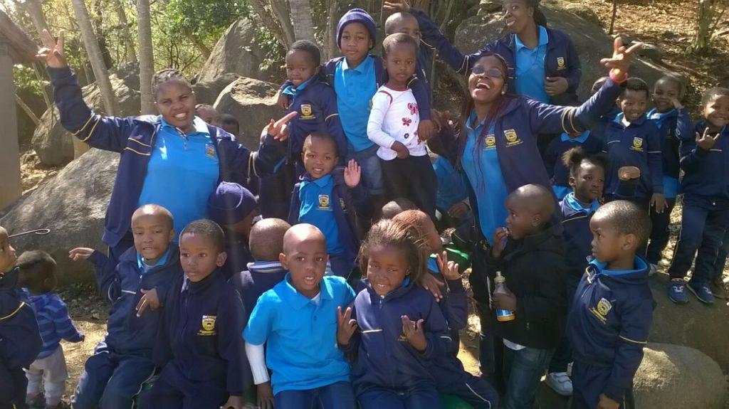 Preschoolers going wild for Creation in Swaziland