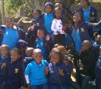 Preschoolers going wild for Creation in Swaziland