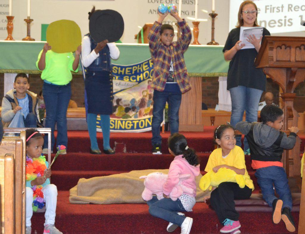 International Sunday School Day goes green