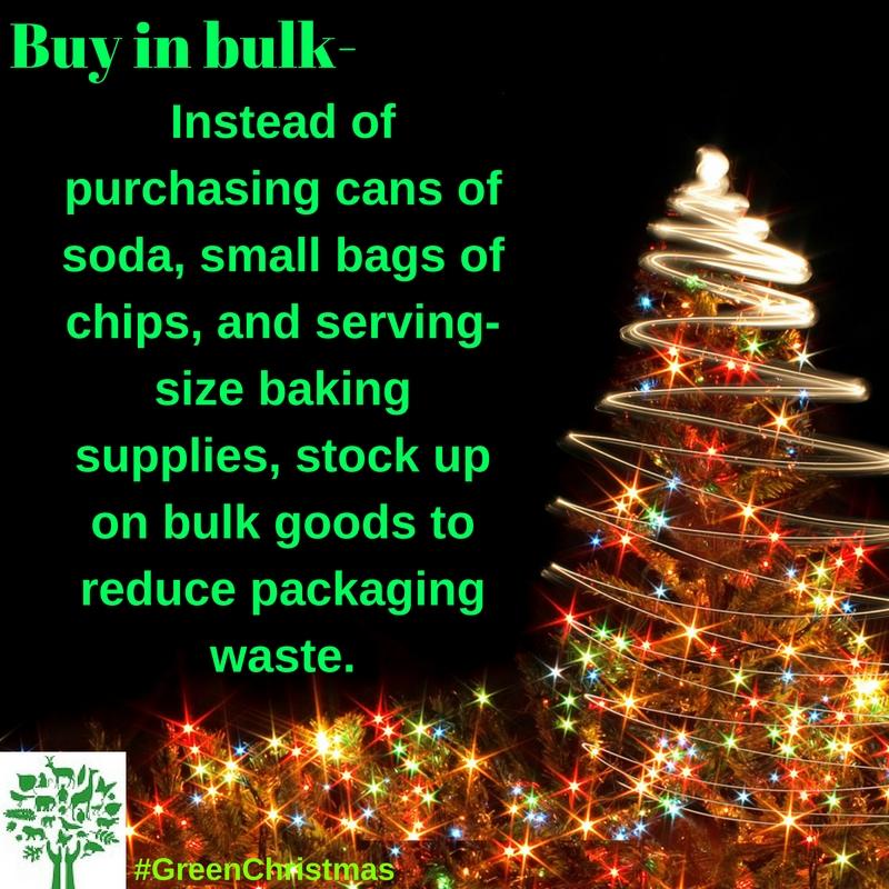 Green Christmas Tips : 12 December 2016