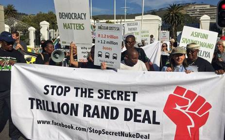 The Archbishop of Cape Town says scrap the Nuclear deal