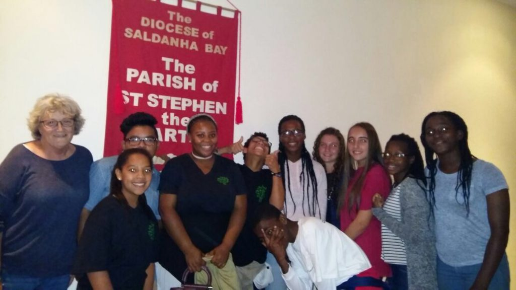 The Diocese of Saldanha Bay in South Africa celebrated Earth Day with a Diocesan Youth Environmental Service