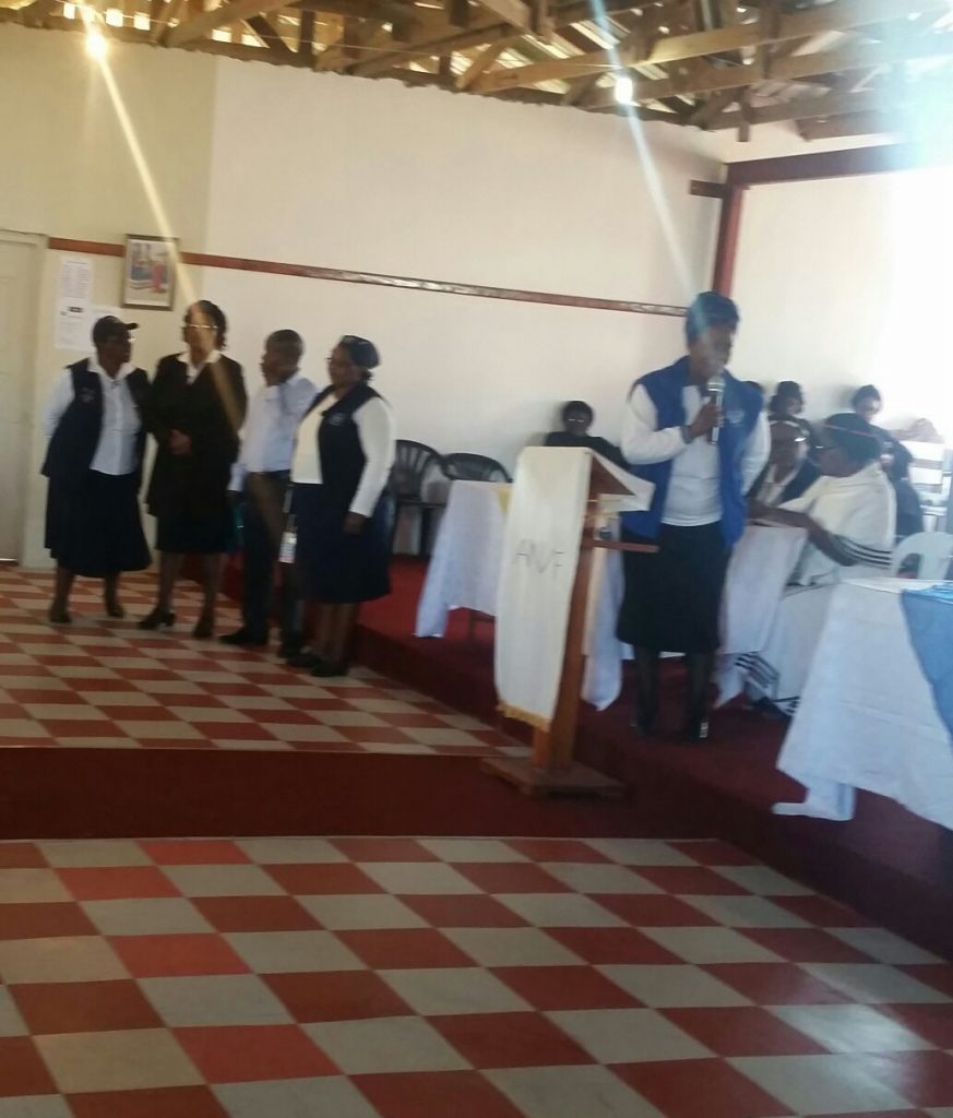 AWF Diocese of Khahlamba lights up Green