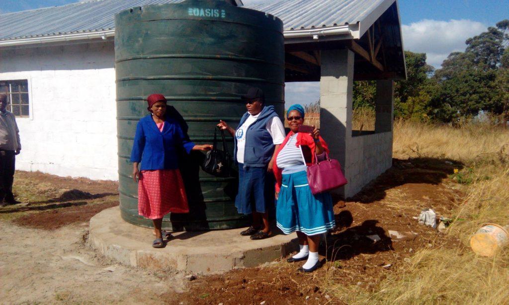 Rain Water Harvesting in Swaziland