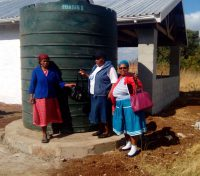 Rain Water Harvesting in Swaziland