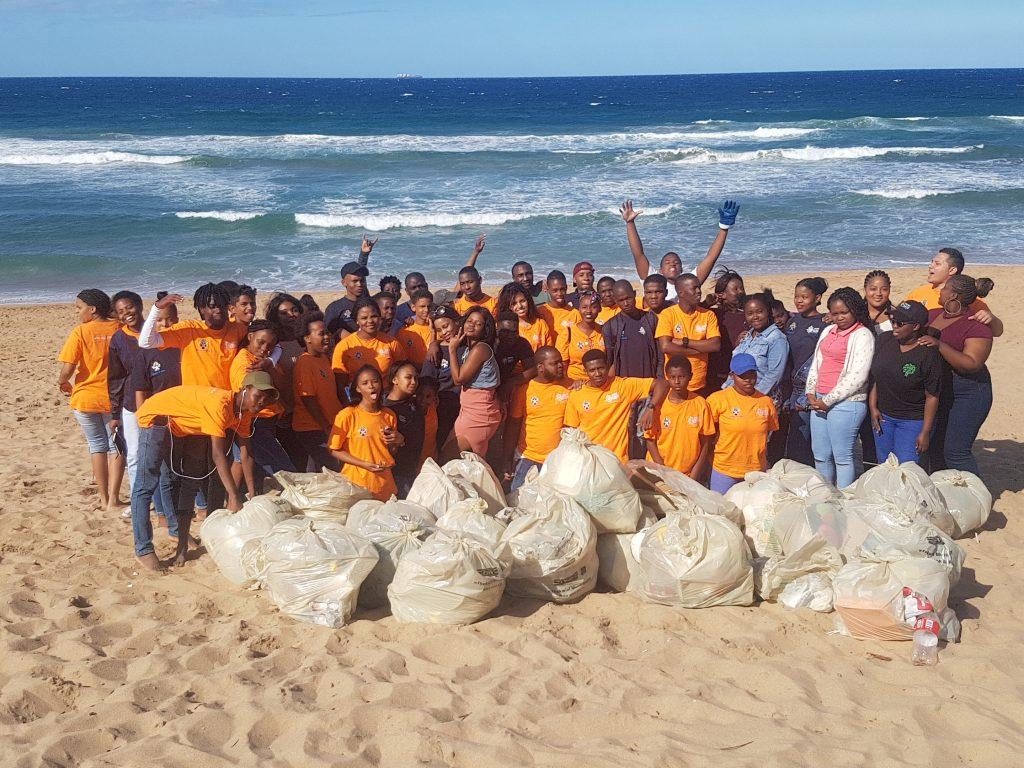 An Amazing Beach Clean up Race