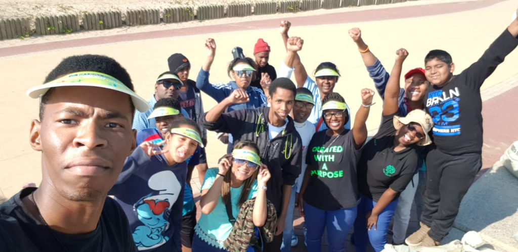 Anglican Youth Clean up Blue Lagoon Beach for Mandela