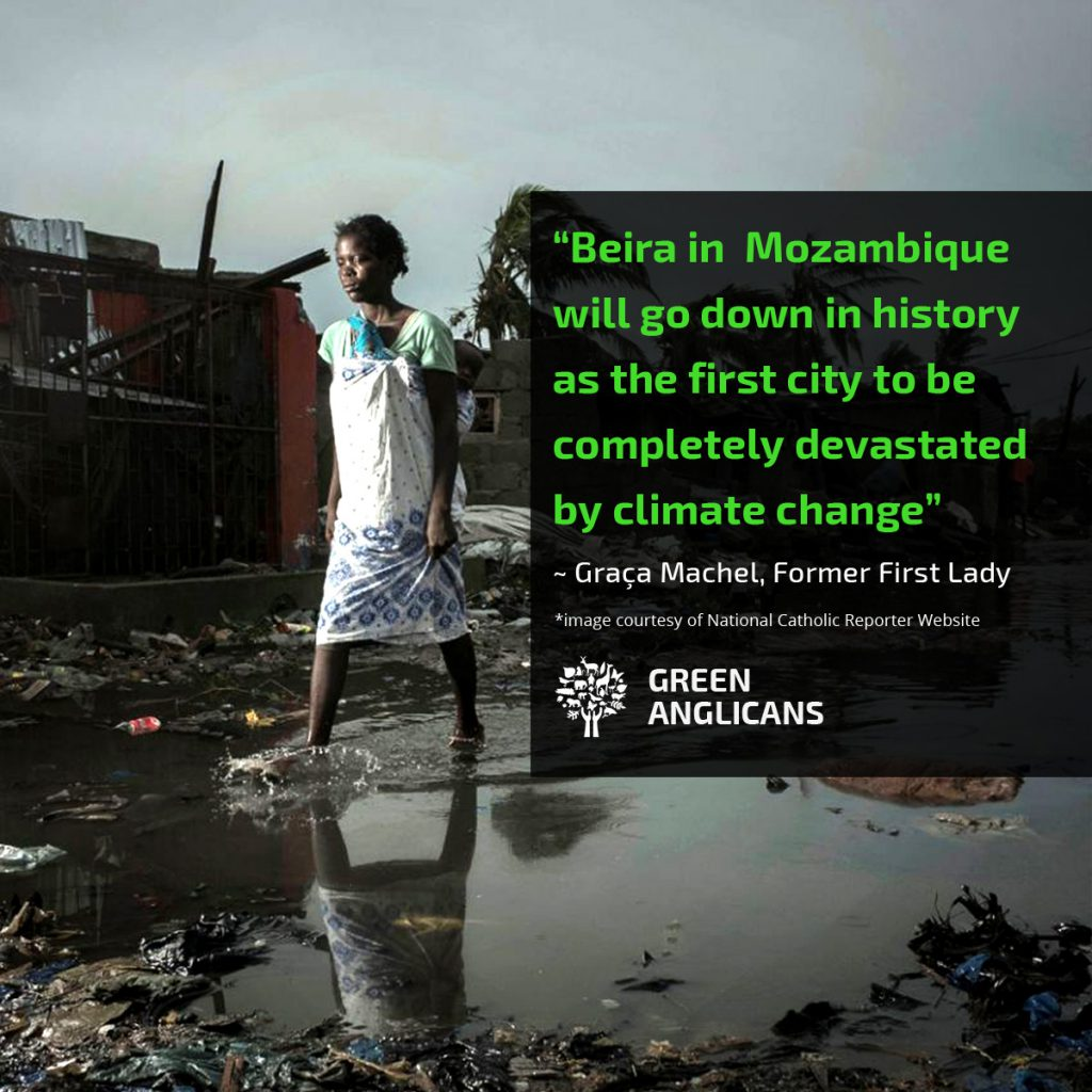 Beira is the first city to be completely devastated by Climate Change