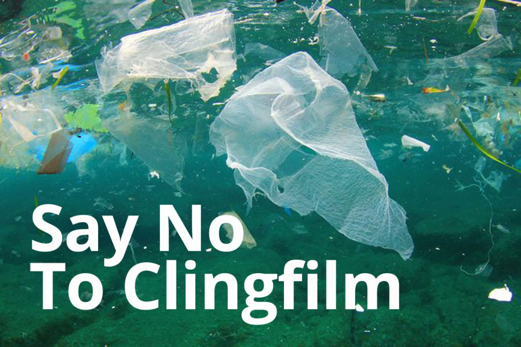 March 29 – Say No to Cling Film