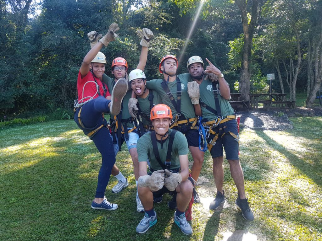 Diocese of Natal Youth Celebrate Earth Day at Karkloof Canopy Tours