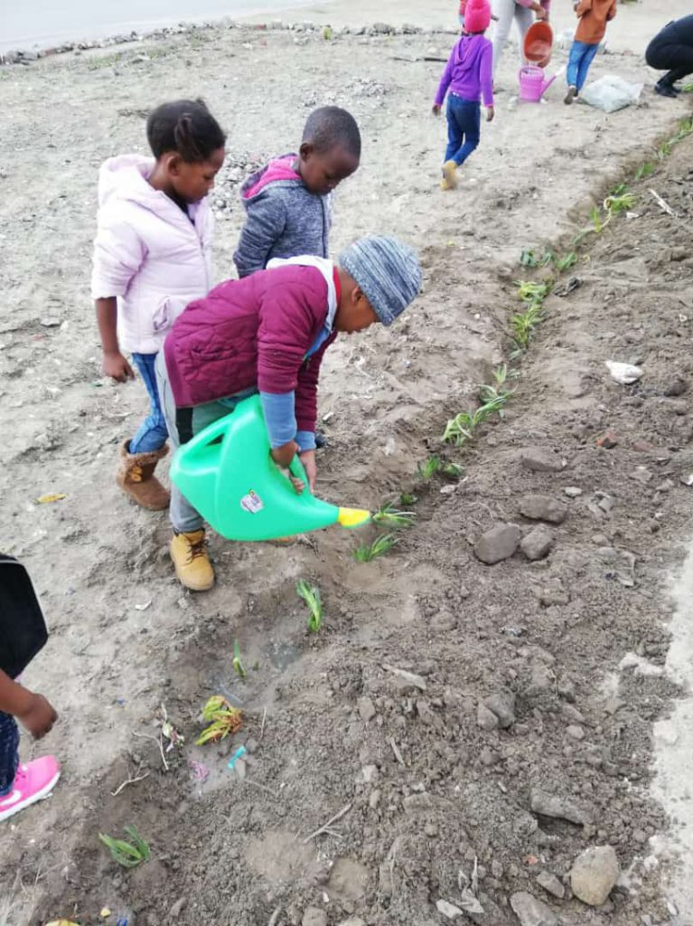 From Illegal Dumpsite to Childrens garden