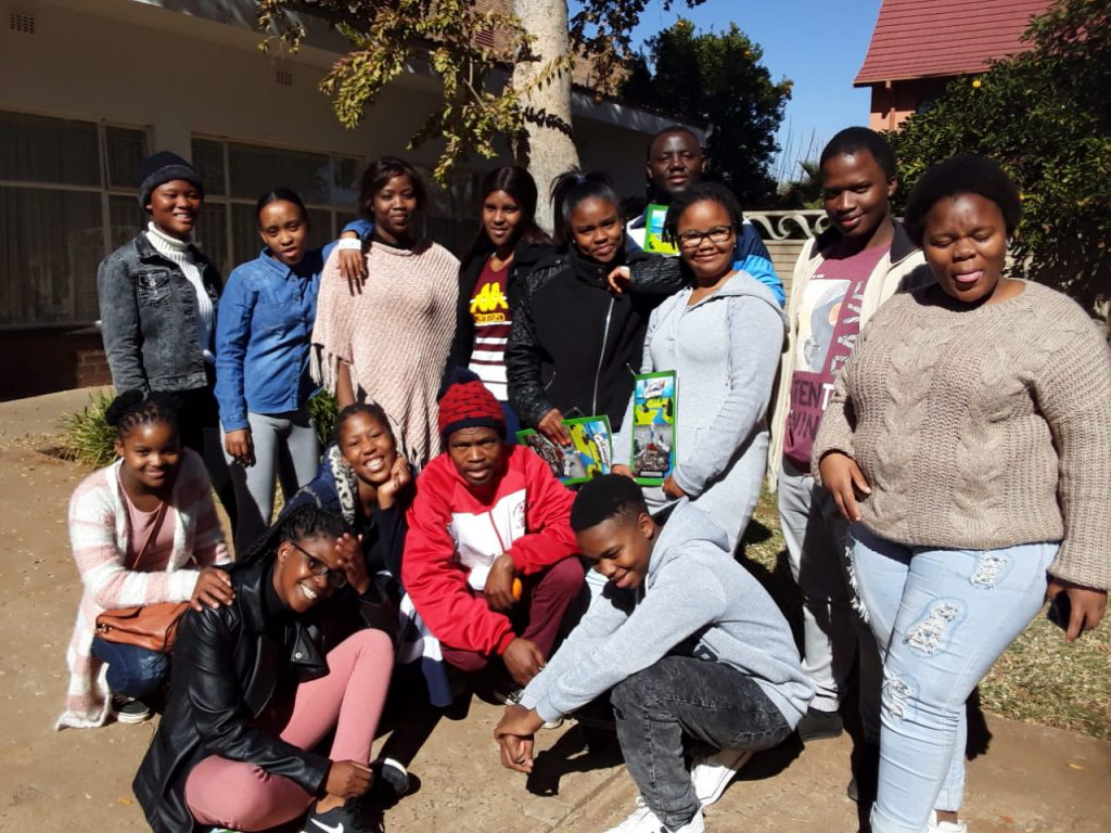 Youth leaders training in Matlosane