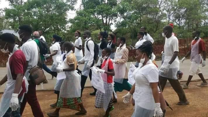 Raising awareness with street vendors in Malawi