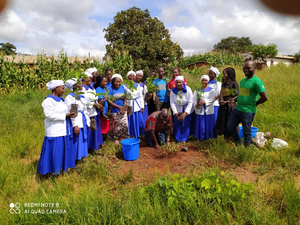 Green Anglicans Malawi join hands with Mothers Union