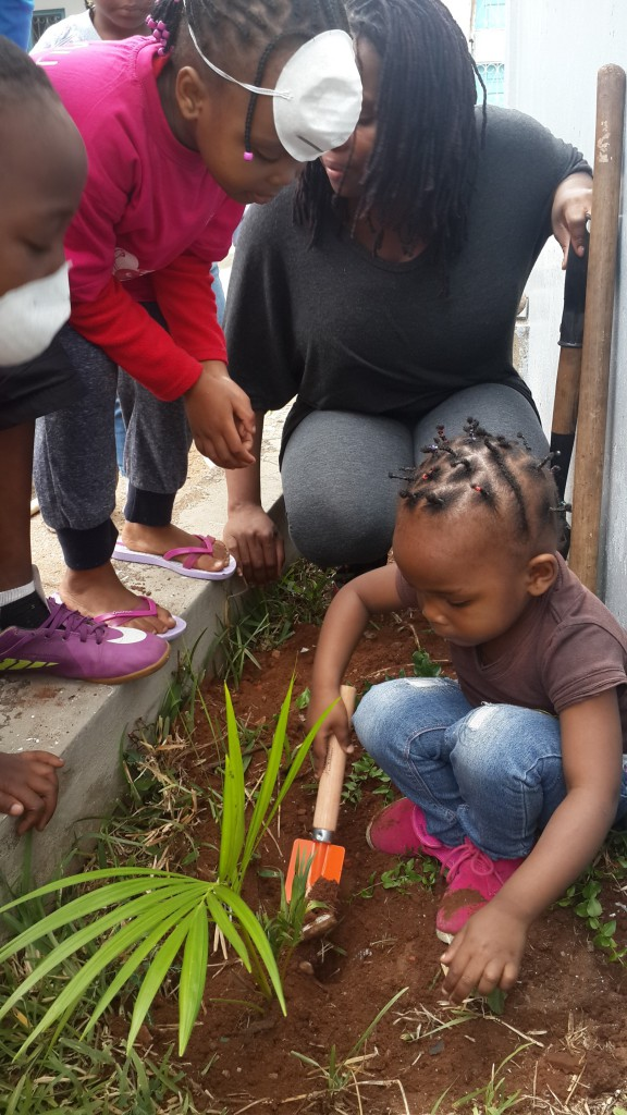 Diocese of Lebombo- Sunday School children caring for Creation!