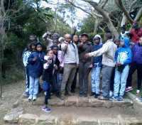 Pride of Table Mountain : Khayelitsha Sunday School hike Table Mountain