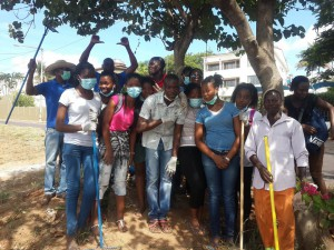 Clean up in Maputo