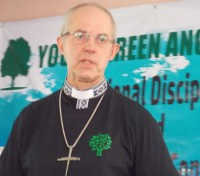 The Archbishop of Canterbury is going Green!