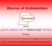 Diocese of Grahamstown commits to care for creation