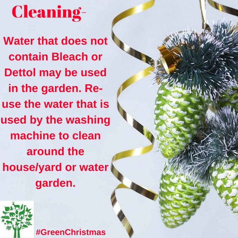 Green Christmas Tips : 17 December 2016