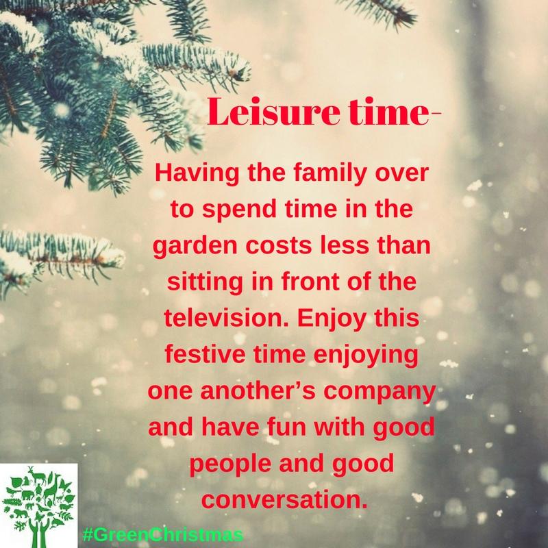 Green Christmas Tips : 21 December 2016