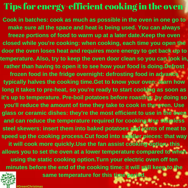 Green Christmas Tips : 25 December 2016
