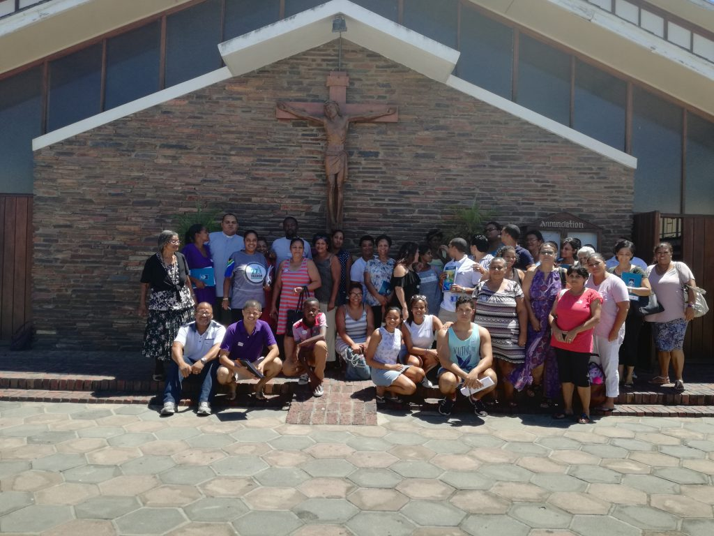 Ryan the Rhino visits the Archdeaconry of Paarl