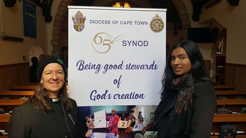 Youth of the Diocese of Cape Town call for a paperless Synod