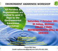 Diocese of Port Elizabeth's Environmental Awareness Workshop