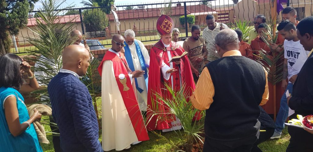 Green Palm Sunday : Christ the King Diocese