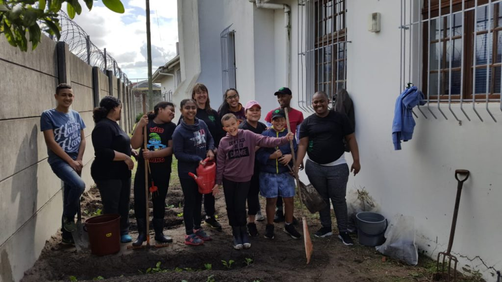 St Philips youth get their hands dirty