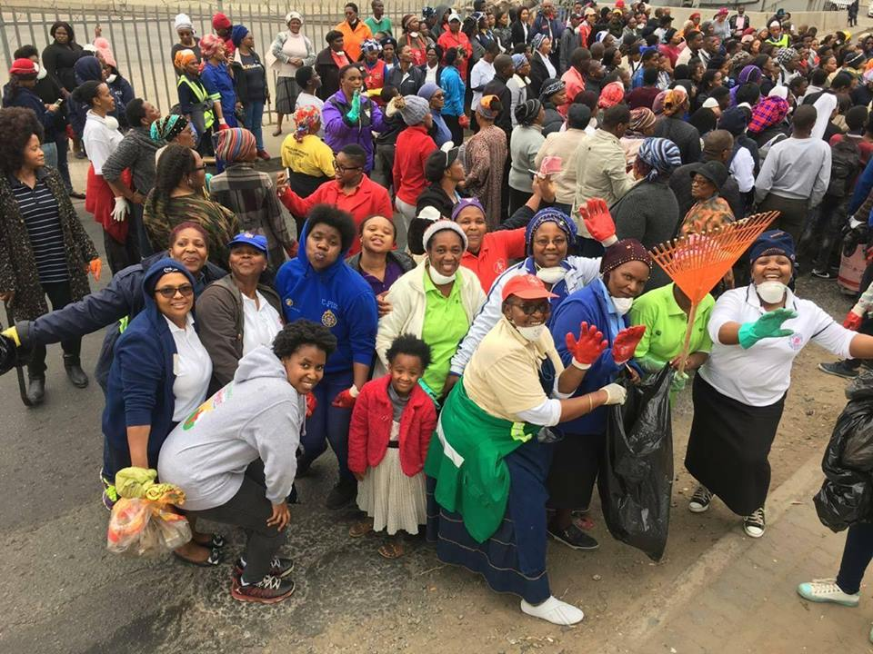 CLEANING UP MTHATHA