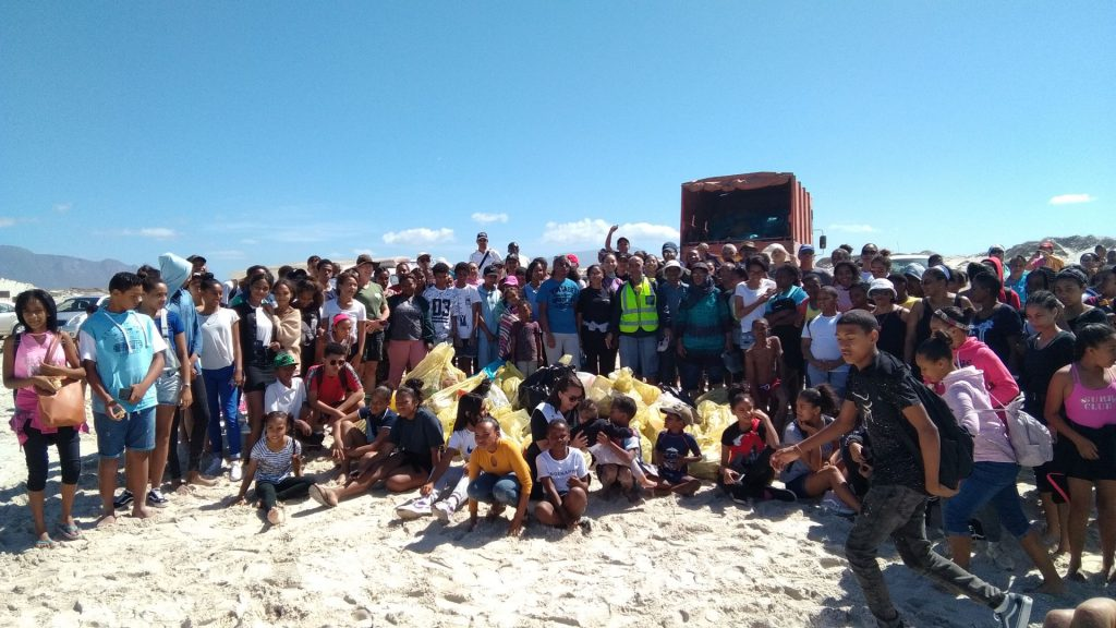 Protect the False Bay beach cleanup