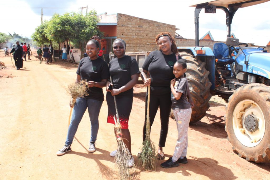 Taking Green Anglicans into the villages in Kenya