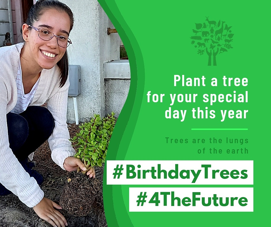 CELEBRATE YOUR BIRTHDAY WITH #BIRTHDAYTREES