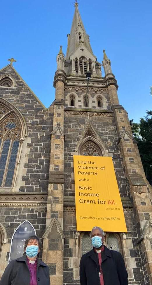 The Anglican Church calls for a Basic Income Grant